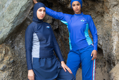 Splashgear modest full-coverage and Islamically-compliant swimwear