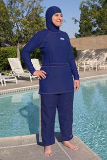 97c5aa924bd85 Splashgear Resort Shirt modest full coverage Muslim Jewish Christian ...