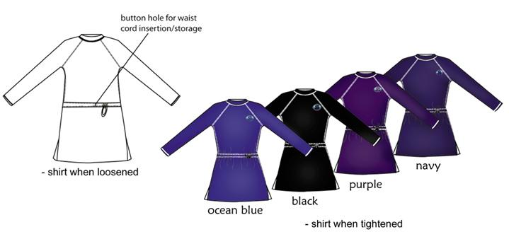 ca315e8ff50cf Splashgear Resort Shirt modest full coverage Muslim Jewish Christian plus  size Islamic UV protection swimwear